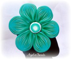 flower tutorial by Ayelet beads