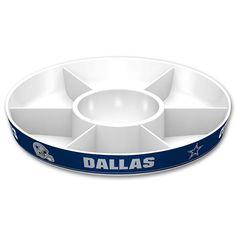 Dallas Cowboys NFL Divided Party Platter, Multicolor
