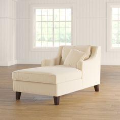 Darby Home Co Harisson Sandy Chaise Lounge Corner Reading Nooks, Reading Room, Velvet Chaise Lounge, Chaise Lounges, Living Room Seating, Furniture, Home Decor, Diving, Interior Ideas