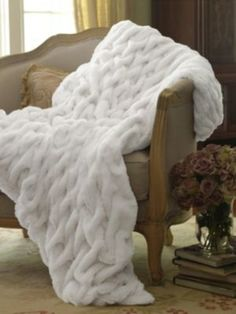 Paris Faux Fur Throw - Soft Surroundings