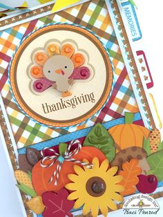 Fall Friends Collection: Thanksgiving Mini Album by Traci