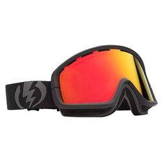 Electric EGB2 Snowboard Goggles Black/Red