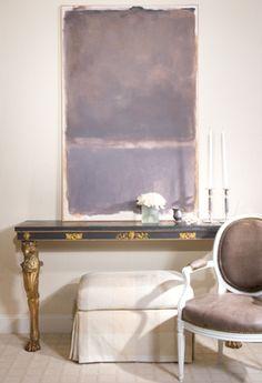 Diane James' amazing crème rose creation. Caldwell - Beebe interior design.