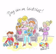 Dag van de leidster by Blond-Amsterdam