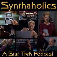Episode 52: Tinker Tenor Doctor Spy Potato This week we have finally fulfilled one of our goals when we started Synthaholics. This goal was for all of us to be almost drunk before recording! So in this extra fun installment of Synthaholics we talk about the Star Trek Voyager Episode Tinker Tenor Doctor Spy. This is an episode we all greatly enjoyed talking about because this is a Doctor episode and those are almost always strong episodes! What happens when your imagination gets the better...
