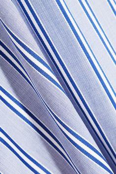 Balenciaga | Striped cotton-poplin top | NET-A-PORTER.COM
