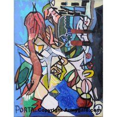 Toti Oeuvre Authentique - 990,00 €  #Art #Artiste
