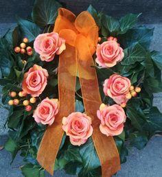 Floral Wreath, Wreaths, Flowers, Plants, Floral Crown, Door Wreaths, Deco Mesh Wreaths, Plant, Royal Icing Flowers
