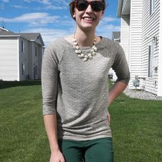 Fall Raglan Sleeve Pattern