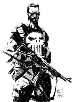 Punisher by Kim Jacinto Looks slightly Ashley Wood. I like.