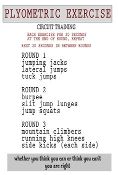 Training Fast Twitch Muscle Fibers with Plyometric Exercises