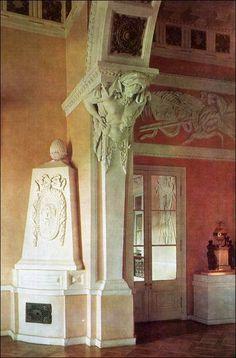 State Vestibule at Pavlovsk, Pavlovsk Palace & Park - Country Residence of the Russian Imperial Family