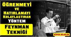 Öğrenmeyi ve Hatırlamayı Kolaylaştıran Yöntem: Feynman Tekniği Richard Feynman, Psychology, Coaching, Kindergarten, Good Things, Education, Learning, Youtube, Life