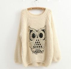 This is so cute!! I love owls on clothing!