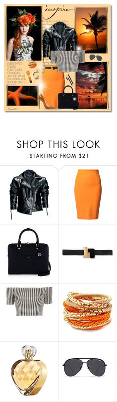 """Inspire..."" by nannerl27forever ❤ liked on Polyvore featuring Poesia, Leka, By Malene Birger, Henri Bendel, Roksanda, Topshop, Christian Louboutin, Hard Graft, MIEL and Elizabeth Arden"
