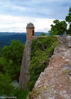 A watchtower of the Castle of Cardona, Spain.