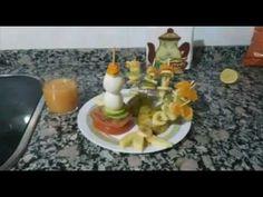 Receta #kascomío- DESAYUNO SALUDABLE - YouTube