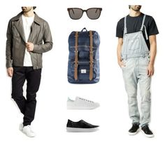 """""""Casual Option"""" by azaleasf on Polyvore featuring men's fashion and menswear"""