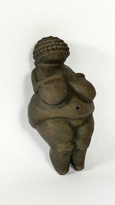 Venus of Willendorf  Figure Mother Earth Goddess by GlinkaDesign
