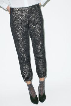 Les Prairies de Paris Brocade Trousers- Now on Sale | No.6 Daily