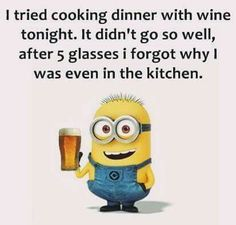 Don't overdo the wine!!!