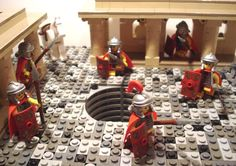 https://flic.kr/p/bbXgcx | The Romans are coming! | But they found the place uninhabited with a pit that stinks and they don't know why!