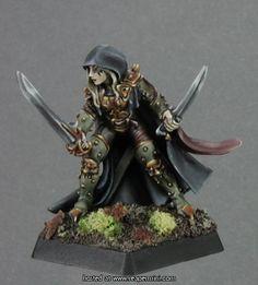 Deladrin, Assassin by Werner Klocke