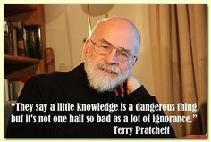 Terry Pratchett quote Book Quotes, Me Quotes, Terry Pratchett Discworld, Discworld Books, Great Quotes, Inspirational Quotes, Neil Gaiman, Atheism, Beautiful Words