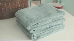 Watch How to Fold a Towel in the Better Homes and Gardens Video