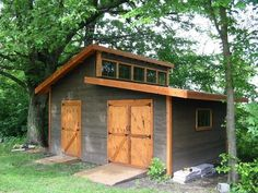 garden shed DIY Garden Shed The Owner-Builder Network Backyard Storage Sheds, Storage Shed Plans, Barn Storage, Wood Storage, Diy Storage, Garden Shed Diy, Diy Shed, Shed Conversion Ideas, Steel Sheds