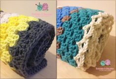 Modern Grannies  - Free Pattern by Bobbles & Baubles
