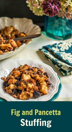Fig and Pancetta Stuffing - #WeekdaySupper #MadHungryFamily Click here ...