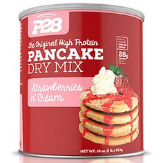 Our P28 High Protein Pancakes are a healthy twist on a classic dish. Our pancakes are the perfect option for those leading a healthy lifestyle who don't want to give up their favorite dishes.