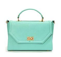 Lulu's Bag to Differ Mint Green Handbag http://www.zoanne.com/bags/Lulu%27s-Bag-to-Differ-Mint-Green-Handbag $45