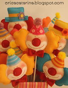 felt clowns