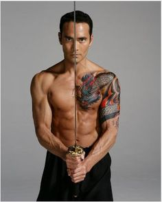 Mark Dacascos - Season 9  Eliminated 10th;  Partner:  Lacy Schwimmer;  Iron Chef America Chairman