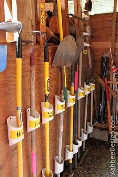 Ideas DIY de almacenamiento para el jardín