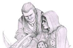 Tethras and Davri by RanmaCMH on DeviantArt
