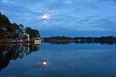 Full Moon on Carrabelle River