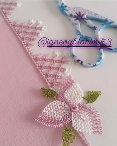 The Most Amazing Needle Lace Models,The Most Amazing Needle Lace Models Good some ideas for lovely embroidery By embroidering beautiful patterns, small numbers or beautiful borders, DIY . Crochet Flower Patterns, Tatting Patterns, Baby Knitting Patterns, Crochet Doilies, Knitting Yarn, Crochet Flowers, Filet Crochet, Crochet Stitches, Woolen Craft