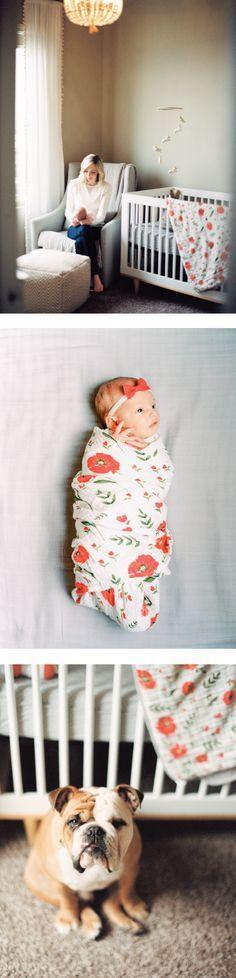 Summer Poppy Nursery #littleunicorn