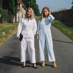 The Boiler Suit Is the Ultimate Off-Duty Outfit, and Here's Why New York Fashion Week Street Style, Street Style Trends, Spring Street Style, Simple Outfits, Fall Outfits, What To Wear Tomorrow, Boiler Suit, Workwear Fashion, Jumpsuit Outfit