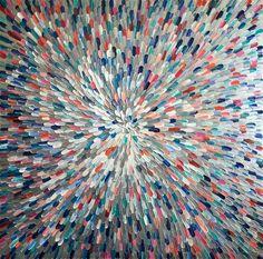 Image of 'Universum transparent' - 120x120cm