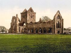 Sweetheart Abbey, Dumfries, Scotland