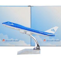 KLM Boeing 747 16cm