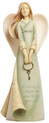 Enesco Foundations by Karen Hahn Bless Your New Home Angel Figurine, 7.68-Inch in Collectibles, Decorative Collectibles, Decorative Collectible Brands   eBay