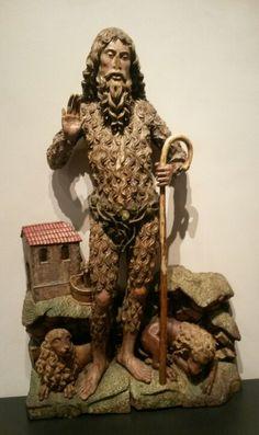 San Onofre - Alejo de Vahía hacia 1500 (Museo Nacional de Escultura de Valladolid)
