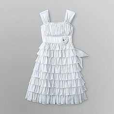 a possible flower girl dress with brown cowgirl boots :)
