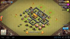 War Basse COC TH 4 | Seputar Tips Trik Android