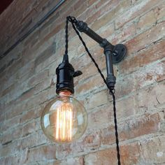 Industrial Style Sconce